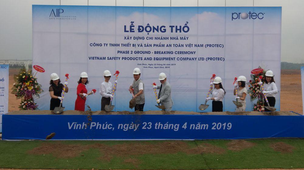 Nhà máy sản xuất TB và SP An toàn Việt Nam - PROTEC.