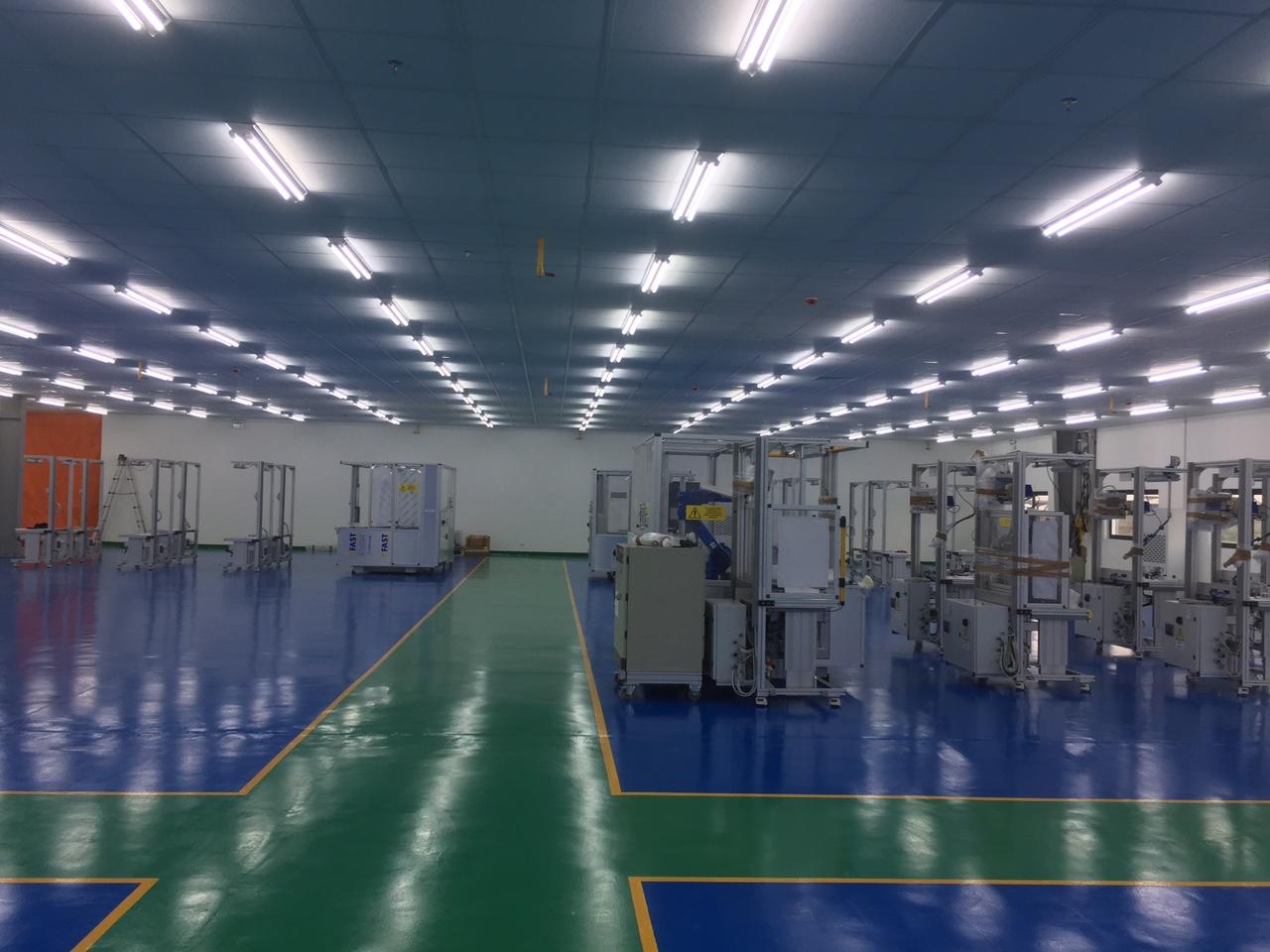 Nhà máy Triom - KCN Quang Minh - Hà Nội