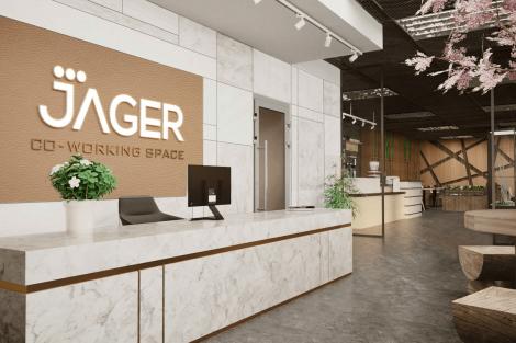 Showroom và Co-working nhà máy Jager Bình Xuyên