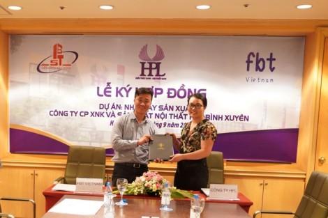 Chính thức ký Hợp đồng Tổng thầu Dự án HPL Bình Xuyên - Vĩnh Phúc