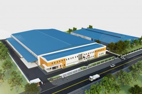 Cập nhật tiến độ dự án Protec - KCN Bá Thiện 2 - Bình Xuyên - Vĩnh Phúc